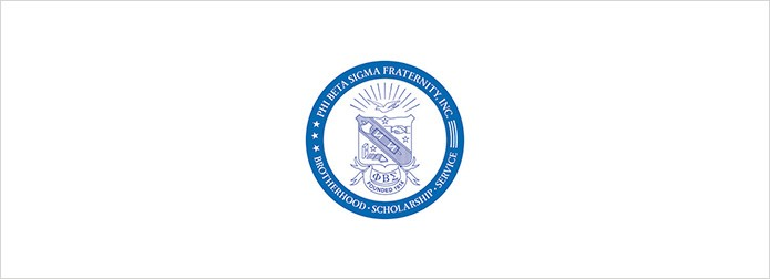 Phi Beta Sigma logo on white background
