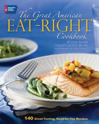 "cover from ""The Great American Eat-Right Cookbook"""