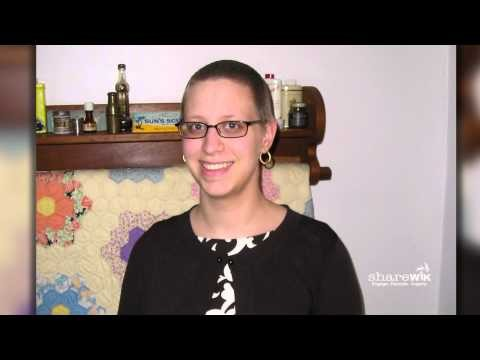 "screenshot from the video ""Elizabeth Stroud (Breast Cancer: I Was 23)"""