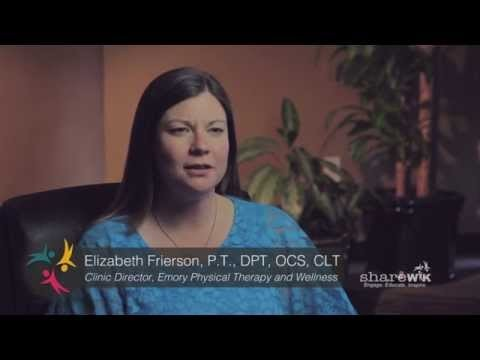 "screenshot from the video ""Lymphedema: An Introduction"""