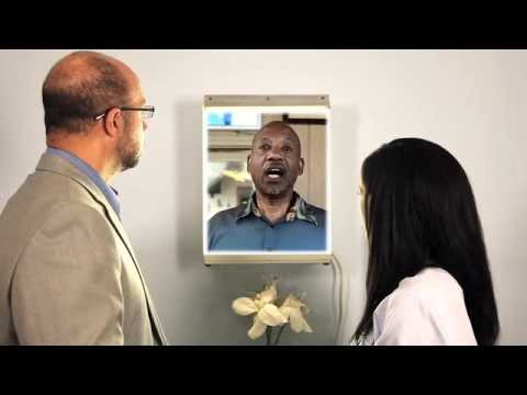 "screenshot from the video ""Prostate Cancer Video for Clinicians"""