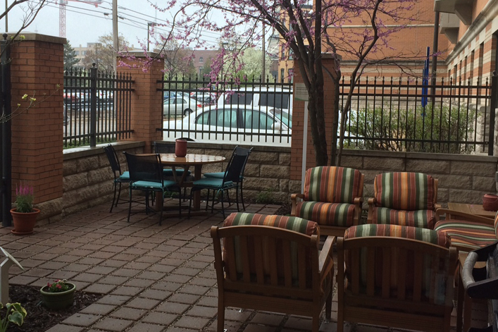 Grand Rapids, MI Hope Lodge Patio