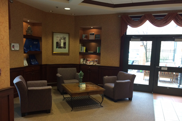 Grand Rapids, MI Hope Lodge Waiting Area