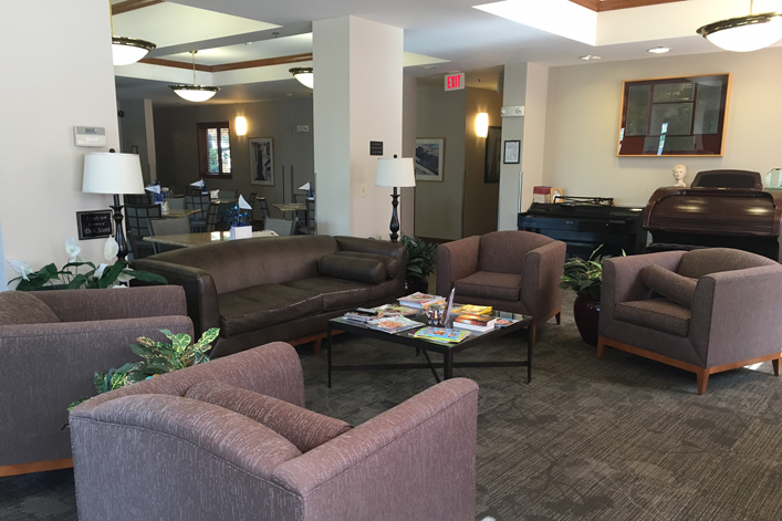 Kansas City, MO Hope Lodge Common Area