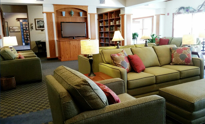 Marshfield, WI Hope Lodge Common Area