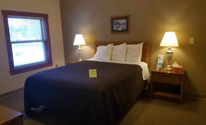Marshfield, WI Hope Lodge Guest Room