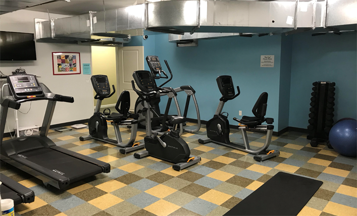 Minneapolis, MN Hope Lodge Fitness Room