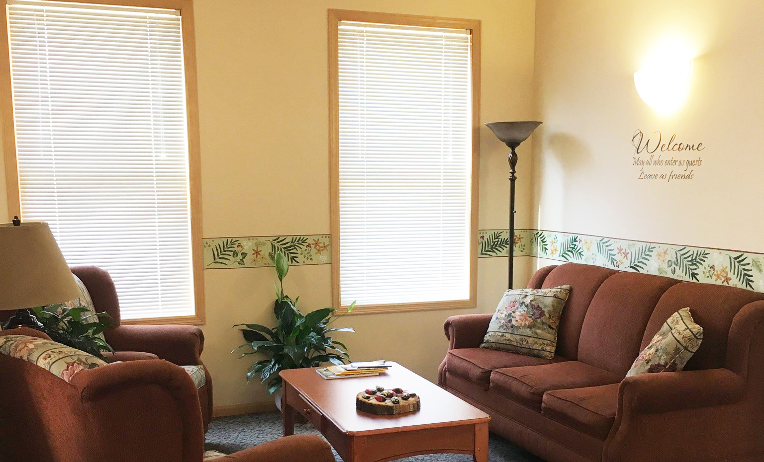Rochester, MN Hope Lodge Sitting Area