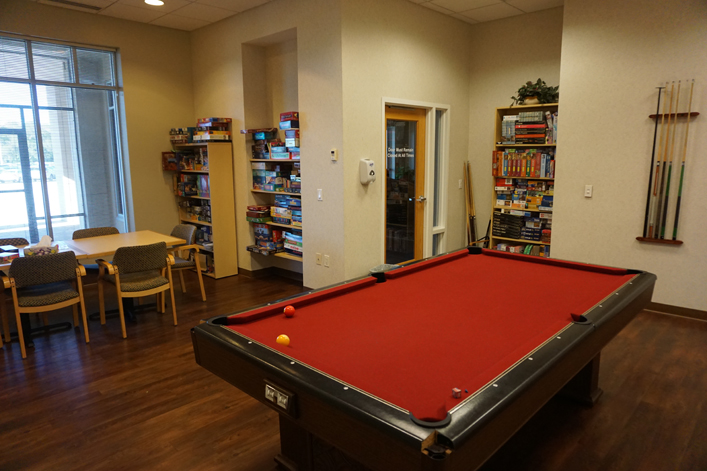Tampa, FL Hope Lodge Game Room