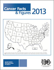 Cancer facts figures 2013 american cancer society this annual report provides the estimated numbers of new cancer cases and deaths in 2013 as well as current cancer incidence mortality and survival toneelgroepblik Images