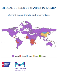 Global Burden of Cancer in Women Report Cover