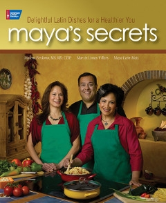 Maya's Secrets cookbook cover