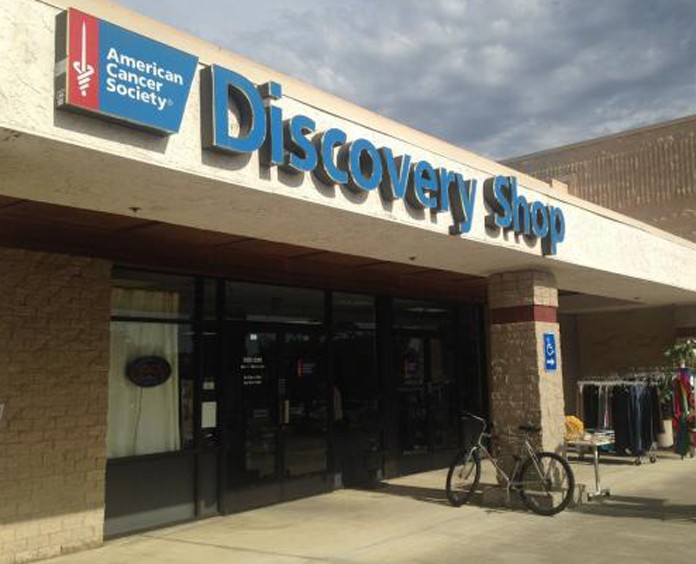 American Cancer Society Discovery Shop exterior Roseville, CA
