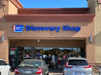 American Cancer Society Discovery Shop exterior Salinas, CA