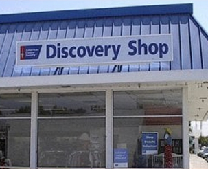 American Cancer Society Discovery Shop exterior Stockton, CA
