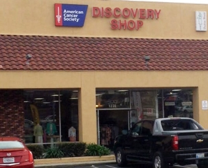 American Cancer Society Discovery Shop exterior Upland, CA