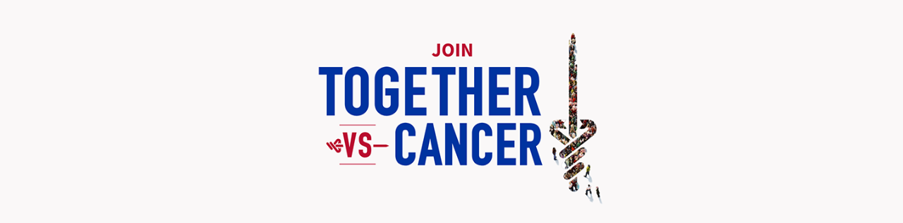 join Together vs Cancer banner