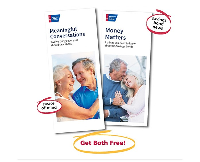 Meaningful Conversations and Money Matters Brochure Covers, Get both free
