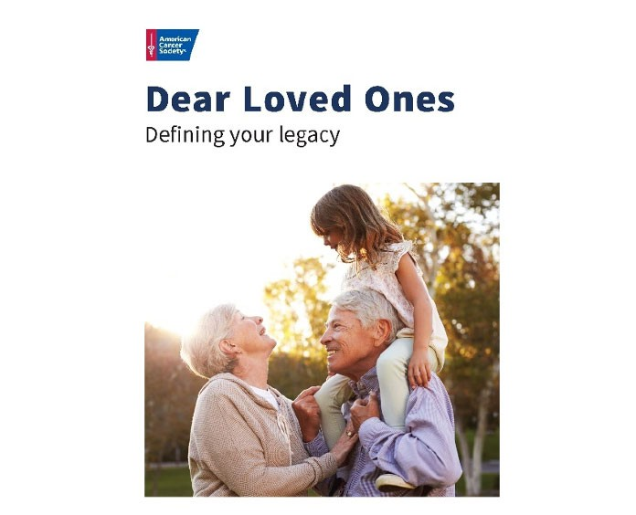 cover of the Dear Loved Ones: Defining your legacy guide