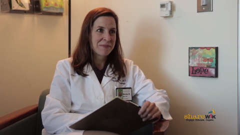 "screenshot from the video ""What Can a Psychiatric Oncologist Do for You?"""