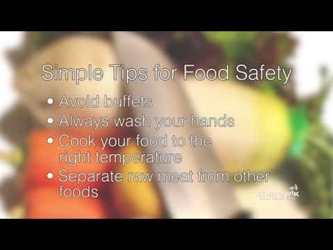"screenshot from the video ""The Importance of Food Safety"""
