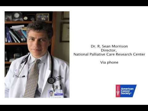 "screenshot from the video ""Easing the Burden of Cancer Through Palliative Care"""